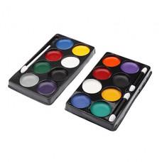 8 цветов Клоун лица Paint Kit (случайный цвет)