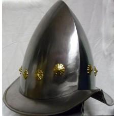 Рыцарский шлем морион, европейский