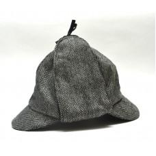Шапка Шерлока Холмса, Шляпа охотника на оленей, серая