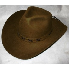 Шляпа фетровая коричневая