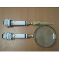 Набор лупа+нож для конвертов