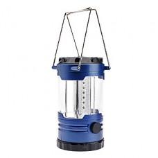 0999 кемпинги 1-режим 12-светодиодный фонарь свет с компасом (3хд-клеток, синий)