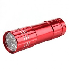 1 мини-режиме светодиодный фонарик (3xAAA, случайный цвет)
