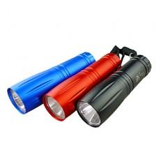 1 мини-режиме светодиодный фонарик (1xAA, случайный цвет)