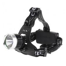 068D Мощный 3-режимный LED фонарь с лампой Cree XM-L T6 (1000LM, 2x18650)