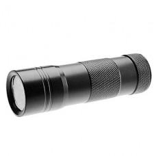 1-режим 12-светодиодный фонарик УФ (3xAAA)