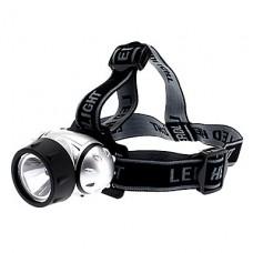 1-LED 3-Mode Белый свет фар (1W, 3xAAA)
