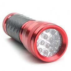 1-режим 14-светодиодный фонарик (3x10440/3xaaa, красный)