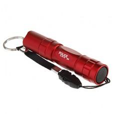 037-45 1-Mode Мини светодиодный фонарик (1xAA, красный / черный / синий / коричневый)