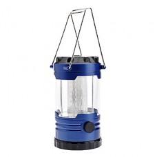 0988 кемпинге 12 светодиодных фонаря с компасом (3хд-клеток, синий)
