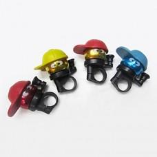 """Велосипедный звонок """"Человечек в кепке"""" (5 цветов)"""