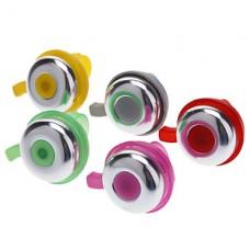 Легкий пластиковый велосипед колокол (разных цветов)