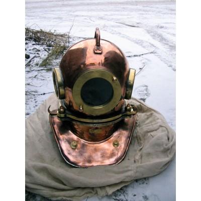"""Водолазный шлем """"Военный ныряльщик"""""""